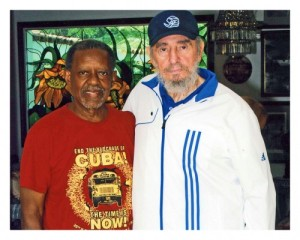 Lucius Walker, Fidel Castro Aug. 2009